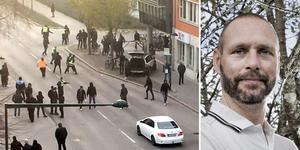 Johan Skuthälla, ÖSK:s säkerhetsansvarige var på plats i Sundsvall.
