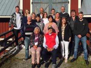 K.G. med sambo Gerd njuter i solen i Bandsjön.