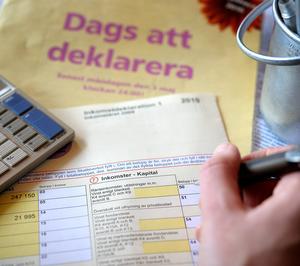 Blev det restskattångest eller påskpengar..? Foto: Anders Wiklund/TT