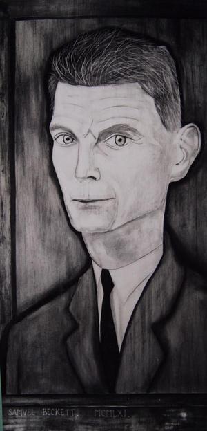 Samuel Beckett, porträtt av Reginald Gray från 1961.