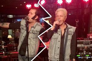Playbackbandet Pökerz, en hyllning till Ronny och Ragge, har splittrats.