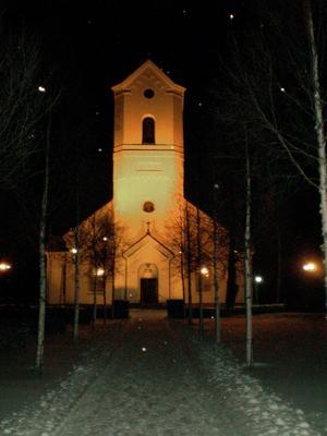 Ore kyrka är lika stor som tidigare, men rymmer färre besökare idag än förr. FOTO: GUNILLA JACOBSSON