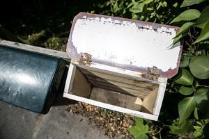 Tom postlåda drabbades cirka 200 hushåll av i bostadsområdet Forssa i Borlänge.