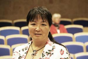 Yoomi Renström (S). Socialdemokraterna har i dag 12 platser i kommunfullmäktige.