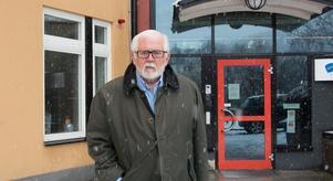 Börje Alström på Mittuniversitetet, där han började arbeta med att bygga uppp journalistutbildningen efter att ha slutat som chefredaktör för ST.