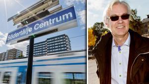 Regionaltåg hela vägen in i Södertälje centrum kan bli verklighet 2030 om kommunen får som de vill.
