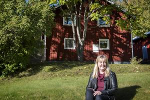 Favoritplatsen är hemma i Järved, den plats hon bott längst på i sitt liv.