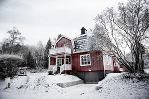 Villan byggdes 1921.