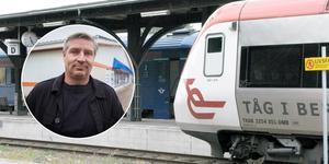 Kommunalrådet i Avesta, Lars Isacsson (S), tog initiativ till att protestera mot Tåg i Bergslagens planer på en neddragning av persontrafiken. Med sig på tåget fick han även Fagersta, Norberg och Skinnskatteberg.