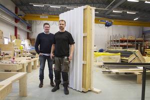 Andreas Anderstam, Kustvillan och Peter Stenquist, vd för Paralox.