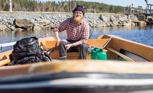 Carl Hedlund vill gärna tillbringa en längre tid igen på Agön.