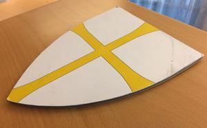 Olavskorset från Nord-Tröndelag blir symbol för hela nya Tröndelag.