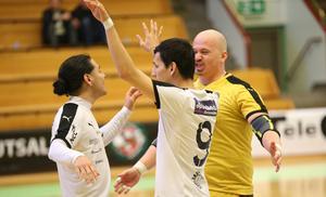 Han inledde säsongen som tredjemålvakt, men när kontraktet skulle räddas var det Björn Andersson som kom in och styrde mellan ÖSK Futsals stolpar.