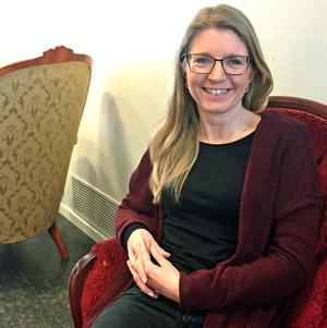Annrika Dahlström har startat den nya Västeråsteatern Teater På Gång.Foto: Erik Jersenius