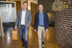 Marknadschefen Thomas Lütje och vd:n Patrik Frick har tillsammans med sina medarbetare jobbat hårt för att få Travel Team att växa på byråmarknaden.