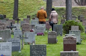 Skogskyrkogården utanför Stockholm är ett tydligt exempel på den nya tidens ordning. Foto: Pontus Lundahl / SCANPIX
