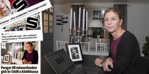 Karin Hellmyrs, mamma till bandyspelaren Axel Jonsson, konstaterar att SAIK verkar ha tagit till sig av kritiken