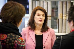 Ann Linde (S), EU- och handelsminister.
