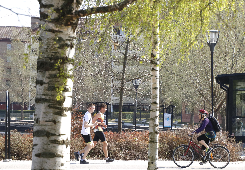 Plötsligt blev det sommar i Örebro och alltfler tar sig ut i den varma solen. Men för de som är allergiska mot björkpollen eskalerar besvären just nu.