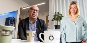 Unto Järvirova, ekonomichef på Östersunds kommun och styrelseordförande i Östersundshem. Montage: Stenman/Flygare, LT.