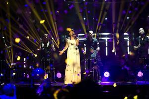 Bild från när Melodifestivalen hölls i Leksand 2012.