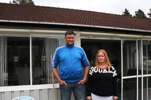 Johan och Maria Sjöns tycker att de, trots allt, hade tur. Olyckan kunde ha fått mycket värre följder.