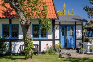 Korsvirkeshus är en vanlig syn på Bornholm.   Foto: Bildagentur Zoonar GmbH/Shutterstock.com