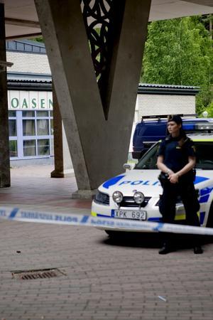 Dubbelmordet på bröderna Moussa skedde inne på Oasen.