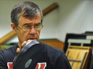 Sven Lundstedt hade en framgångsrik egen karriär och har ända sedan 1960-talet varit tränare i BK Älgen. Foto: Hans-Råger Bergström