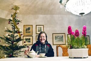 Gisela Cajbrandt i Norberg satsar på sin bed and breakfast-verksamhet trots att det är jul.
