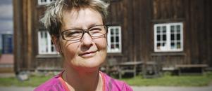 Mia Eberson Skjefstad älskar Hälsinglands gårdar. – De är så estetiskt vackra, säger hon.