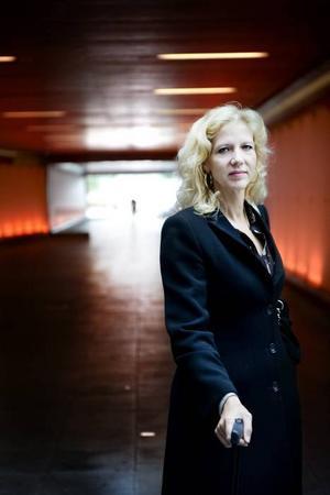 """Marklund flyttas. Kungliga biblioteket ändrar beteckning för Liza Marklunds """"Gömda"""" från fackbok till skönlitteratur.Foto: Karin Grip/SvD/Scanpix"""