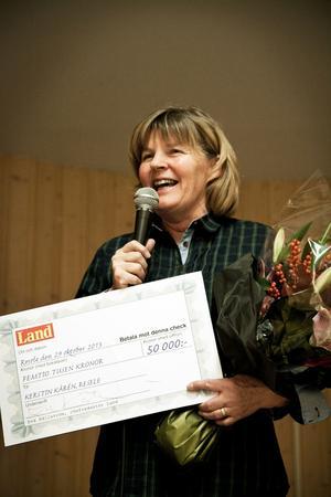 Gemenskapen i Resele lyftes fram av flera, bland annat Kerstin Kårén.