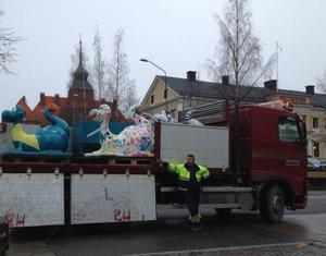 Nu är det dags för Birgerfigurerna att få vintervila.