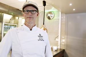 Stefan Johansson, krögare och ansvarig för hållbarhetsarbetet på Högbo Brukshotell.