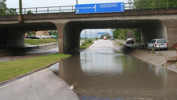 Översvämning i Fagersta 2011.