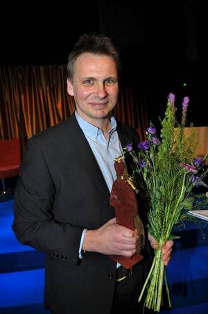 Jakob Wegelius, årets vinnare  av Augustpriset  i barn- och ungdomsboksklassen, är de små streckens och detaljernas mästare.Foto: Fredrik Sandberg/Scanpix