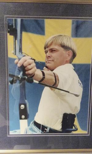 Fyra OS. Roger Eriksson har deltagit i fyra raka Paralympics.