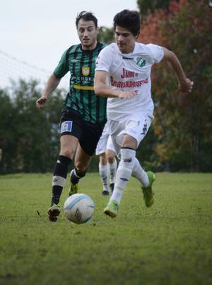 David Danielan räddade seriesegern åt sitt lag Ånge med sina två mål på Sidsjövallen i Sundsvall.