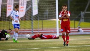 Förmågan att göra mål på sina chanser var det som skiljde Division 1-laget Luleå från division 2-gänget Härnösands FF den här onsdagskvällen.