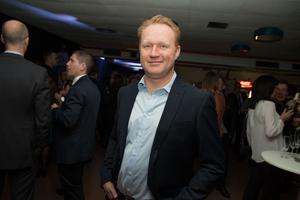 Magnus Andersson, vd och ägare av Scandinavian pile driving. Utsedd till årets företagare på Silverglans 2017.