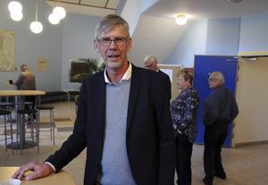 Gunnar Barke, S-märkt landstingsråd.