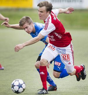 Vänsterbacken Jimmy Hansson blir en nyckelspelare i norrtvåan.