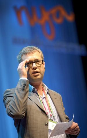 Kent Persson. Ny medlem av Moderaternas partistyrelse.
