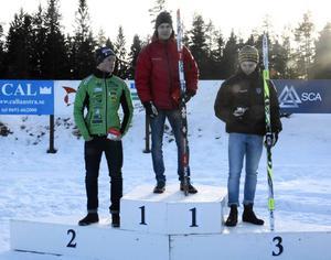 Arvid Aronsson segrade i klassen herrar 18-19.