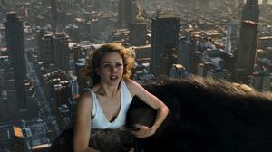 King Kong och Ann, spelad av Naomi Watts, uppe på Empire state building.