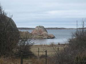 Så här inbjudande ser böljorna ut i Fiskebäckskil utanför Uddevalla där Vivian Kvintåhs befann sig den 9 april. Foto: Vivian Kvintåhs