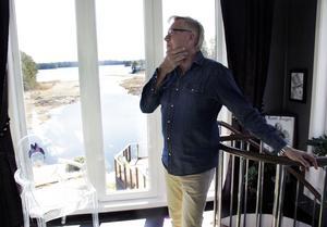Från After Dark-tornet har Lars-Åke Wilhelmsson en imponerande utsikt över Trösken.