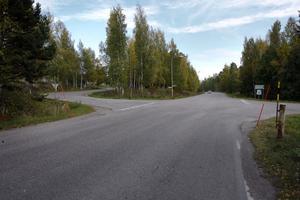 På Forsavägen i Iggesund föreslås 60 kilometer i timmen, medan Centralgatan till vänster får 40 kilometer i timmen.