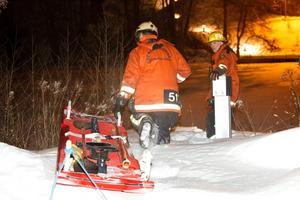 Räddningstjänsten sökte under ett par timmar i Letälven efter att en person setts i vattnet.
